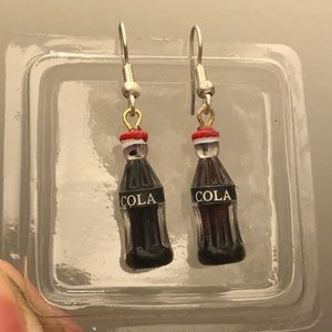 cola earrings🥤